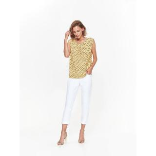 Top Secret LADYS SLEEVELESS BLOUSE dámské Yellow 34