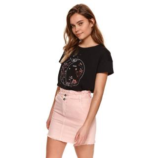 Top Secret LADYS T-SHIRT SHORT SLEEVE dámské Black 34