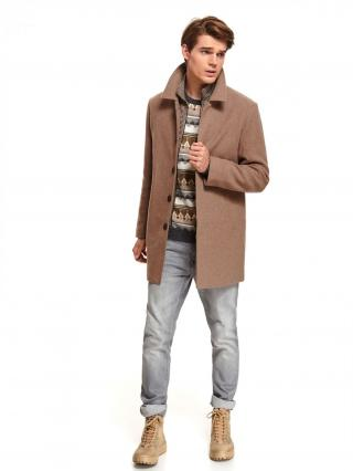 Top Secret MENS COAT pánské Brown M