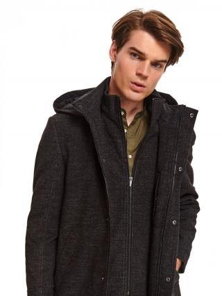 Top Secret MENS COAT pánské DarkGrey L