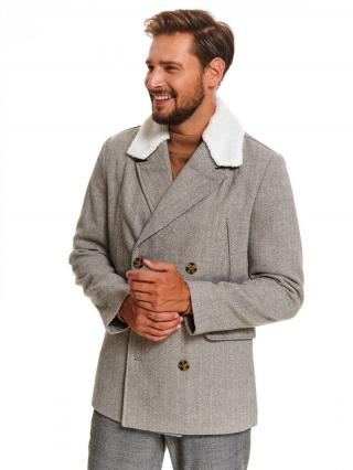 Top Secret MENS COAT pánské Grey M