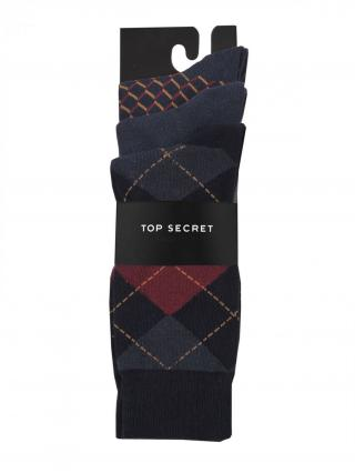 Top Secret MENS SOCKS pánské Graphite 44