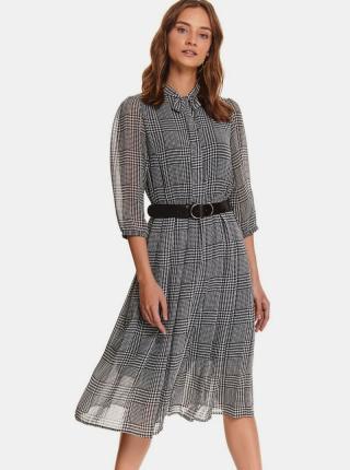TOP SECRET sivé košeľové šaty - XS dámské sivá XS