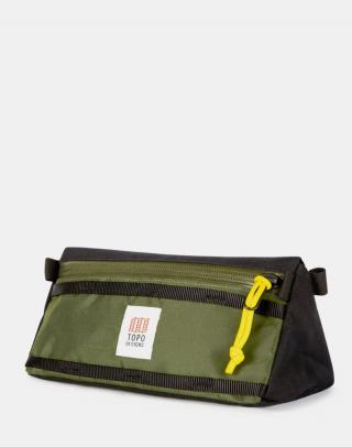 Topo Designs Bike Bag Olive/Black Zelená