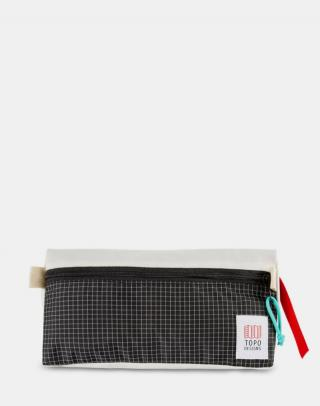 Topo Designs Dopp Kit Natural / Black ripstop Biela