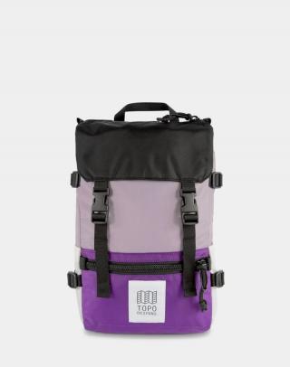 Topo Designs Rover Pack Mini Light Purple/Purple/Black Fialová