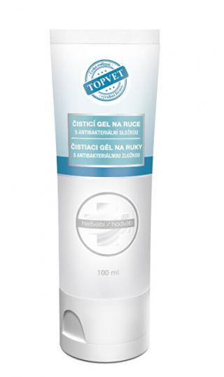 Topvet Antibakteriálny gél na ruky - Hodváb 50 ml