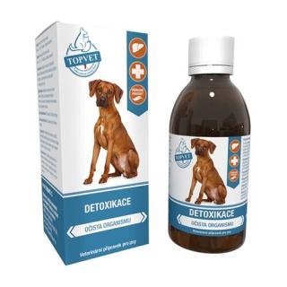 Topvet Detoxikácia sirup pre psov 200 ml