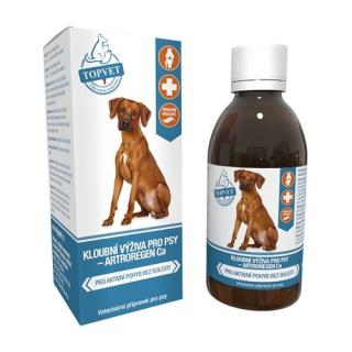 Topvet Kĺbová výživa sirup pre psov 200 ml