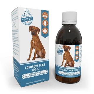 Topvet Lososový olej pre psov 200 ml