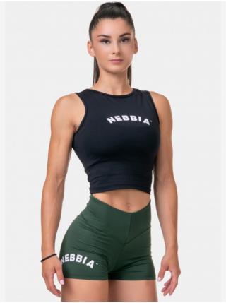 Topy a trička pre ženy NEBBIA - čierna dámské M
