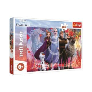 Trefl Puzzle Ľadové kráľovstvo 2 - Cesta za dobrodružstvom, 260 dielikov
