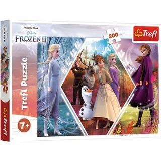 Trefl Puzzle Ľadové kráľovstvo II, Frozen II 200 dielikov