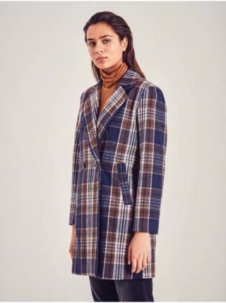 Trenčkoty a ľahké kabáty pre ženy ICHI - tmavomodrá, hnedá dámské XS