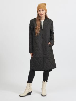 Trenčkoty a ľahké kabáty pre ženy VILA - čierna dámské XS