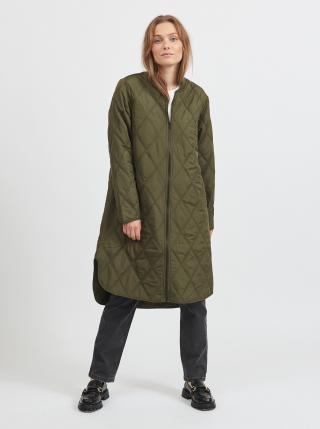 Trenčkoty a ľahké kabáty pre ženy VILA - kaki dámské S