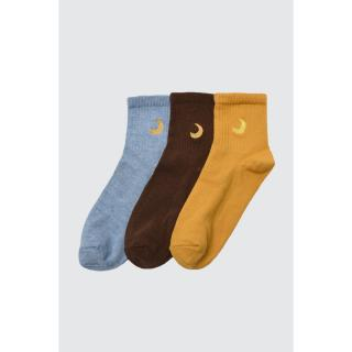 Trendyol 3 Blue Knitted Socks dámské Navy One size