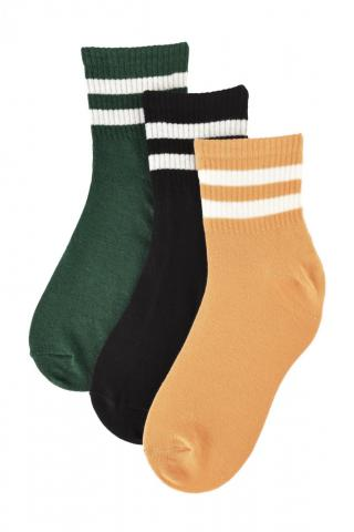 Trendyol 3-pack Black Knitted Socks dámské One size
