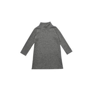 Trendyol Anthracite High Collar Girl Knitted Dress dámské Other 6-7 Y