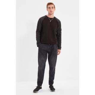 Trendyol Anthracite Mens Baggy Jeans pánské Other 34