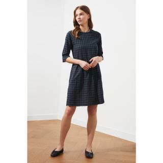 Trendyol Anthracite Square Dress dámské 34