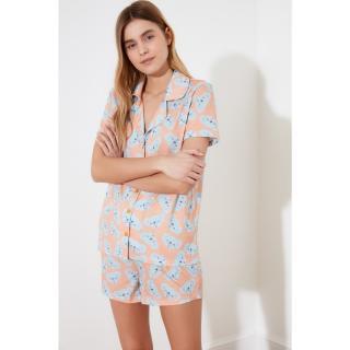Trendyol Baby Koala Patterned Knitted Pyjama Set dámské Yavruağzı M