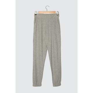 Trendyol Basic Jogger Knitted Tracksuit bottom dámské Grey XS