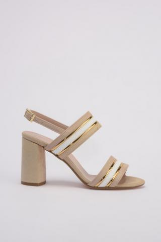 Trendyol Beige Womens Classic Heels dámské 36