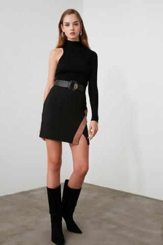 Trendyol Black Basic Skirt dámské 38