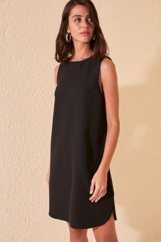 Trendyol Black Bead Detailed Dress dámské 38