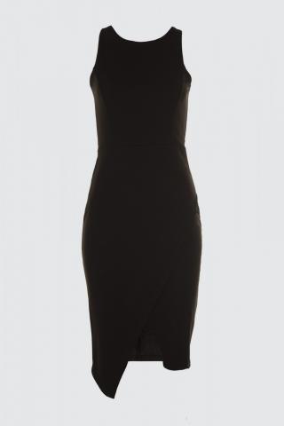 Trendyol Black Belt Detailed Dress dámské 34