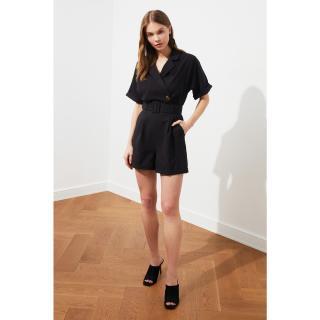 Trendyol Black BeltEd Jumpsuit dámské 34