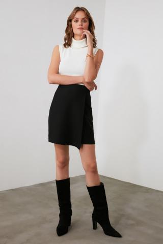 Trendyol Black Cruise Skirt dámské 34