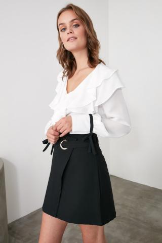 Trendyol Black Cruise Skirt dámské 38