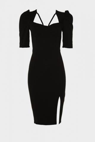 Trendyol Black Handle Dress dámské 34