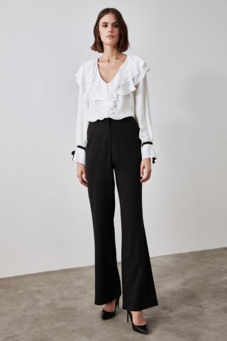 Trendyol Black High Waist Pants dámské 36