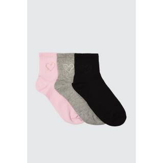 Trendyol Black Knitted Socks dámské One size