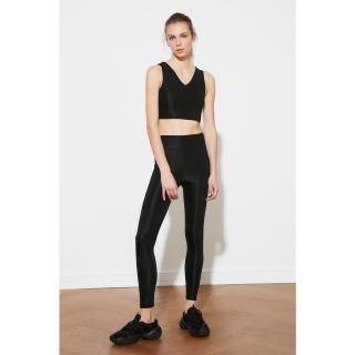 Trendyol Black Knitted Sports Tights dámské S