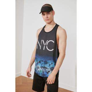 Trendyol Black Male Oversize Zero Arm Athlete S
