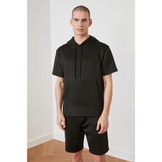 Trendyol Black Male Regular Fit Sweatshirt S