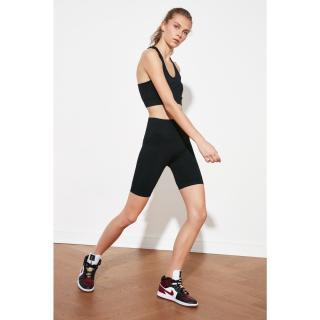 Trendyol Black Seamless Sports Tights dámské XS