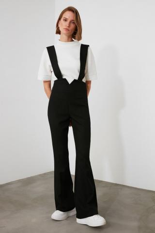 Trendyol Black Strap Jumpsuit dámské 34