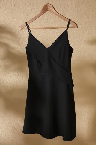 Trendyol Black Volli Dress dámské 34