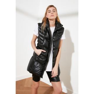 Trendyol Black Zip Inflatable Vest dámské XS