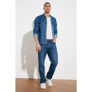 Trendyol Blue Male Regular Fit Jeans Navy 36