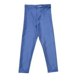 Trendyol Blue Shiny Disco Girl Knitted Leggings dámské Other 6-7 Y
