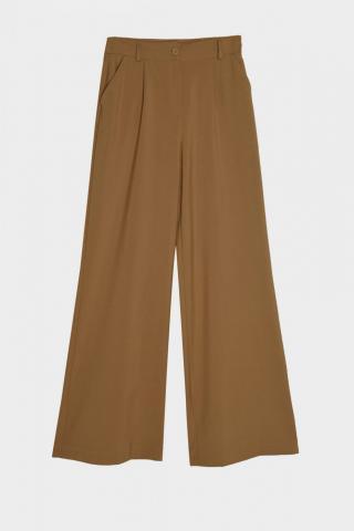 Trendyol Brown Basic Pants dámské 34