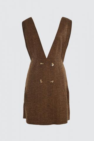 Trendyol Brown Jile Dress dámské 34