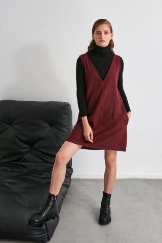 Trendyol Burgundy Jile Dress dámské 34