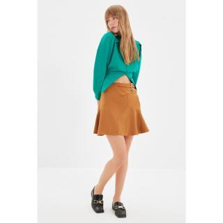 Trendyol Camel Belt Skirt dámské Other 34